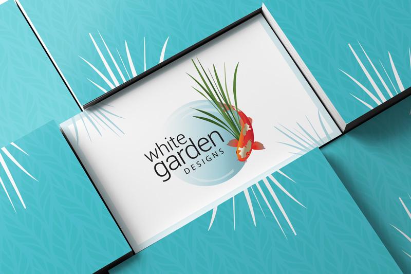 White Garden Design