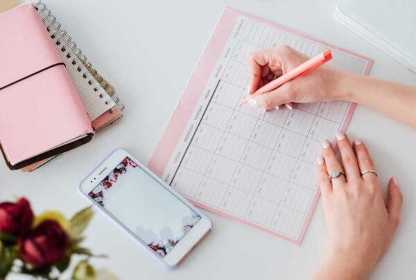 Social Media Calendar 600x403